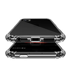 Silikon Schutzhülle Ultra Dünn Tasche Durchsichtig Transparent T02 für Apple iPhone SE Klar