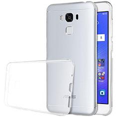 Silikon Schutzhülle Ultra Dünn Tasche Durchsichtig Transparent T02 für Asus Zenfone 3 Max Klar