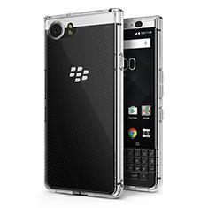 Silikon Schutzhülle Ultra Dünn Tasche Durchsichtig Transparent T02 für Blackberry KEYone Klar