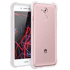 Silikon Schutzhülle Ultra Dünn Tasche Durchsichtig Transparent T02 für Huawei Enjoy 6S Klar