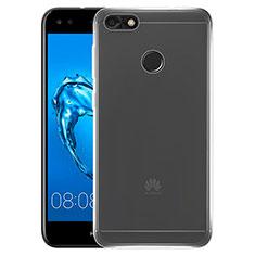 Silikon Schutzhülle Ultra Dünn Tasche Durchsichtig Transparent T02 für Huawei Enjoy 7 Klar