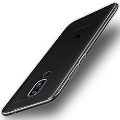 Silikon Schutzhülle Ultra Dünn Tasche Durchsichtig Transparent T02 für Huawei G10 Klar