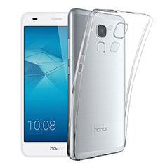 Silikon Schutzhülle Ultra Dünn Tasche Durchsichtig Transparent T02 für Huawei GT3 Klar