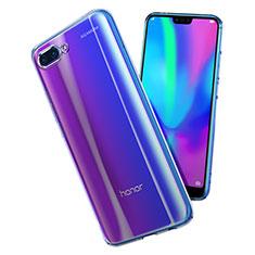 Silikon Schutzhülle Ultra Dünn Tasche Durchsichtig Transparent T02 für Huawei Honor 10 Klar