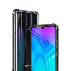 Silikon Schutzhülle Ultra Dünn Tasche Durchsichtig Transparent T02 für Huawei Honor 20i Klar