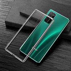 Silikon Schutzhülle Ultra Dünn Tasche Durchsichtig Transparent T02 für Huawei Honor 30S Klar