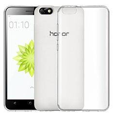 Silikon Schutzhülle Ultra Dünn Tasche Durchsichtig Transparent T02 für Huawei Honor 4X Klar