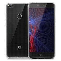 Silikon Schutzhülle Ultra Dünn Tasche Durchsichtig Transparent T02 für Huawei Honor 8 Lite Klar