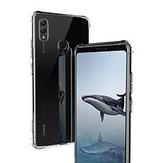Silikon Schutzhülle Ultra Dünn Tasche Durchsichtig Transparent T02 für Huawei Honor Note 10 Klar