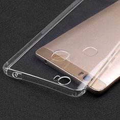 Silikon Schutzhülle Ultra Dünn Tasche Durchsichtig Transparent T02 für Huawei Honor Note 8 Klar