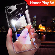 Silikon Schutzhülle Ultra Dünn Tasche Durchsichtig Transparent T02 für Huawei Honor Play 8A Klar