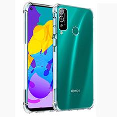 Silikon Schutzhülle Ultra Dünn Tasche Durchsichtig Transparent T02 für Huawei Honor Play4T Klar