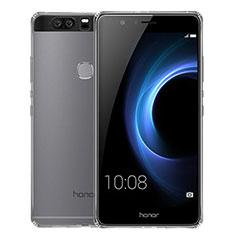 Silikon Schutzhülle Ultra Dünn Tasche Durchsichtig Transparent T02 für Huawei Honor V8 Klar