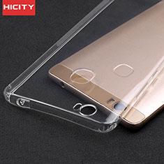 Silikon Schutzhülle Ultra Dünn Tasche Durchsichtig Transparent T02 für Huawei Honor V8 Max Klar