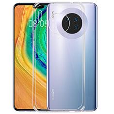 Silikon Schutzhülle Ultra Dünn Tasche Durchsichtig Transparent T02 für Huawei Mate 30 Klar