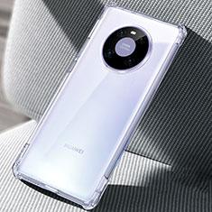 Silikon Schutzhülle Ultra Dünn Tasche Durchsichtig Transparent T02 für Huawei Mate 40 Klar