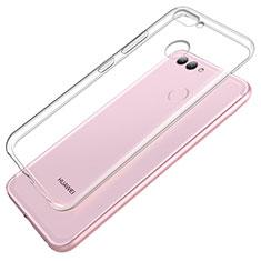 Silikon Schutzhülle Ultra Dünn Tasche Durchsichtig Transparent T02 für Huawei Nova 2 Klar