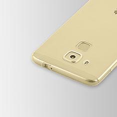 Silikon Schutzhülle Ultra Dünn Tasche Durchsichtig Transparent T02 für Huawei Nova Plus Klar