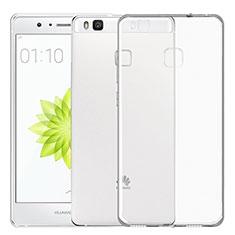 Silikon Schutzhülle Ultra Dünn Tasche Durchsichtig Transparent T02 für Huawei P9 Lite Klar