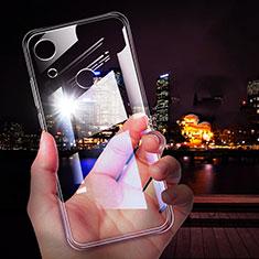 Silikon Schutzhülle Ultra Dünn Tasche Durchsichtig Transparent T02 für Huawei Y6 (2019) Klar