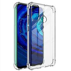 Silikon Schutzhülle Ultra Dünn Tasche Durchsichtig Transparent T02 für Huawei Y8s Klar