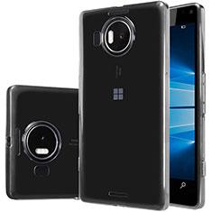 Silikon Schutzhülle Ultra Dünn Tasche Durchsichtig Transparent T02 für Microsoft Lumia 950 XL Klar