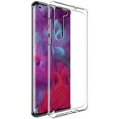 Silikon Schutzhülle Ultra Dünn Tasche Durchsichtig Transparent T02 für Motorola Moto Edge Klar