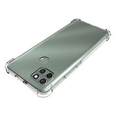 Silikon Schutzhülle Ultra Dünn Tasche Durchsichtig Transparent T02 für Motorola Moto G9 Power Klar