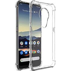 Silikon Schutzhülle Ultra Dünn Tasche Durchsichtig Transparent T02 für Nokia 7.2 Klar