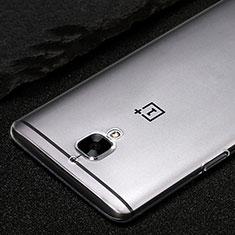 Silikon Schutzhülle Ultra Dünn Tasche Durchsichtig Transparent T02 für OnePlus 3 Klar