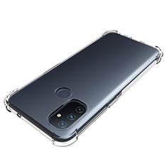 Silikon Schutzhülle Ultra Dünn Tasche Durchsichtig Transparent T02 für OnePlus Nord N100 Klar