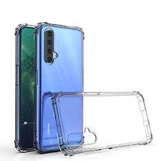 Silikon Schutzhülle Ultra Dünn Tasche Durchsichtig Transparent T02 für Realme X50 5G Klar