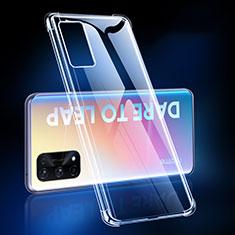 Silikon Schutzhülle Ultra Dünn Tasche Durchsichtig Transparent T02 für Realme X7 5G Klar