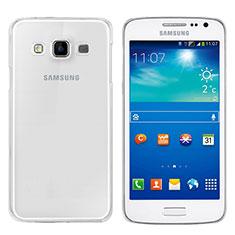 Silikon Schutzhülle Ultra Dünn Tasche Durchsichtig Transparent T02 für Samsung Galaxy A3 SM-300F Klar