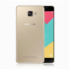 Silikon Schutzhülle Ultra Dünn Tasche Durchsichtig Transparent T02 für Samsung Galaxy A5 (2017) SM-A520F Klar