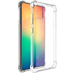 Silikon Schutzhülle Ultra Dünn Tasche Durchsichtig Transparent T02 für Samsung Galaxy A51 4G Klar