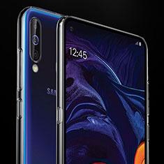 Silikon Schutzhülle Ultra Dünn Tasche Durchsichtig Transparent T02 für Samsung Galaxy A60 Klar