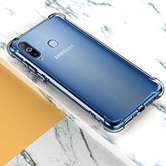 Silikon Schutzhülle Ultra Dünn Tasche Durchsichtig Transparent T02 für Samsung Galaxy A8s SM-G8870 Klar