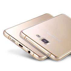 Silikon Schutzhülle Ultra Dünn Tasche Durchsichtig Transparent T02 für Samsung Galaxy A9 Pro (2016) SM-A9100 Klar