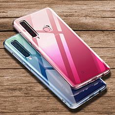 Silikon Schutzhülle Ultra Dünn Tasche Durchsichtig Transparent T02 für Samsung Galaxy A9s Klar