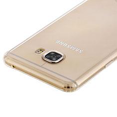 Silikon Schutzhülle Ultra Dünn Tasche Durchsichtig Transparent T02 für Samsung Galaxy C5 SM-C5000 Klar