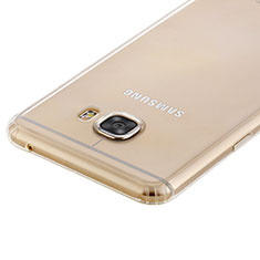 Silikon Schutzhülle Ultra Dünn Tasche Durchsichtig Transparent T02 für Samsung Galaxy C7 SM-C7000 Klar