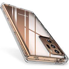 Silikon Schutzhülle Ultra Dünn Tasche Durchsichtig Transparent T02 für Samsung Galaxy Note 20 Ultra 5G Klar