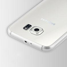 Silikon Schutzhülle Ultra Dünn Tasche Durchsichtig Transparent T02 für Samsung Galaxy S6 SM-G920 Klar