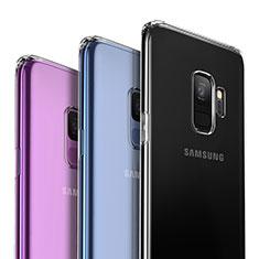 Silikon Schutzhülle Ultra Dünn Tasche Durchsichtig Transparent T02 für Samsung Galaxy S9 Klar
