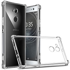 Silikon Schutzhülle Ultra Dünn Tasche Durchsichtig Transparent T02 für Sony Xperia L2 Klar