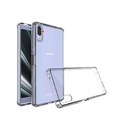 Silikon Schutzhülle Ultra Dünn Tasche Durchsichtig Transparent T02 für Sony Xperia L3 Klar
