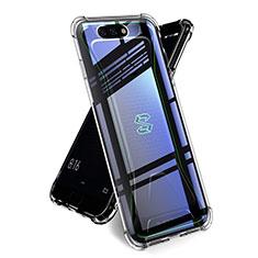 Silikon Schutzhülle Ultra Dünn Tasche Durchsichtig Transparent T02 für Xiaomi Black Shark Klar