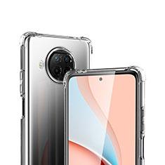 Silikon Schutzhülle Ultra Dünn Tasche Durchsichtig Transparent T02 für Xiaomi Mi 10T Lite 5G Klar