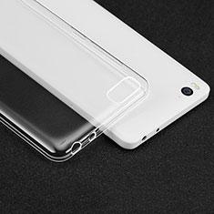 Silikon Schutzhülle Ultra Dünn Tasche Durchsichtig Transparent T02 für Xiaomi Mi 4i Klar
